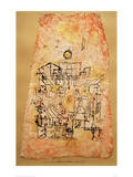 Arab City Giclee Print by Paul Klee