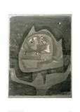 Gotze im Fieberland Giclee Print by Paul Klee