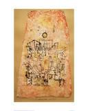Arab City Reproduction procédé giclée par Paul Klee