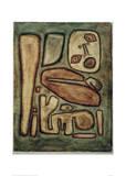 Outbreak of Fear III Giclee Print by Paul Klee