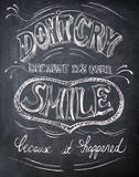 Smile - Mini Print by Drako Fontaine