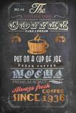 Coffee Menu I - Mini Poster by Drako Fontaine