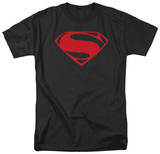 Man of Steel - Red Glyph T-shirts