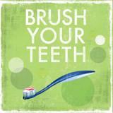 Brush your Teeth Print van Drako Fontaine