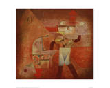 KN the Blacksmith 1922 Giclee Print by Paul Klee