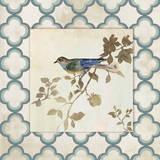 Audubon Tile III - Mini Posters by Asia Jensen