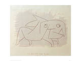 Animal Soon to be Merry Again Giclee Print by Paul Klee