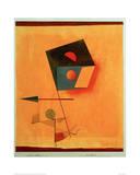 Conqueror Giclée-tryk af Paul Klee