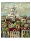 Spring in Paris I Premium Giclee Print by Silvia Vassileva