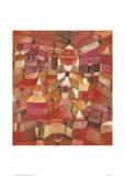 Le jardin de roses Reproduction procédé giclée par Paul Klee