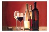 Wine Trio Giclee Print by Marco Fabiano