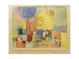 German City BR Impression giclée par Paul Klee