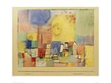 German City BR Giclée-tryk af Paul Klee