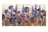 Lupines and Poppies Premium Giclee Print by Silvia Vassileva