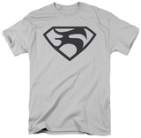Man of Steel - Black Shield T-Shirt