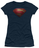 Juniors: Man of Steel - MoS Shield T-Shirt