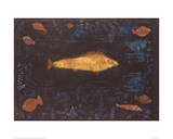 Golden Fish Reproduction procédé giclée par Paul Klee