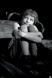 Pippi Longstocking (Black & White) Posters