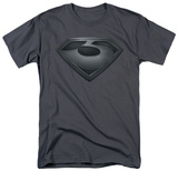 Man of Steel - Zod Shield T-shirts