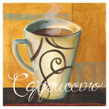 Cappucino Swirls Art by Cat Hargraves