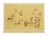 Ships After the Storm Giclee Print by Paul Klee