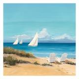 Setting Sail Giclee-tryk i høj kvalitet af Avery Tillmon