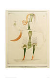 Female Costume Mask Giclee Print by Paul Klee