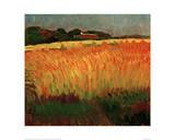 Corn Field Near Carantec Giclee-trykk av Alexej Von Jawlensky