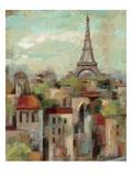 Spring in Paris II Giclee-tryk i høj kvalitet af Silvia Vassileva
