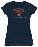 Juniors: Man of Steel - MoS New Logo T-Shirt