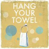 Hang your Towel Prints by Drako Fontaine