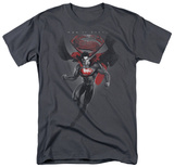 Man of Steel - MoS Distressed T-shirts