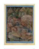 Last Village in the PH Valley Giclee Print by Paul Klee