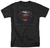 Man of Steel - Man of Steel Shield T-shirts
