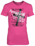 Juniors: Amazing Grace Pink T-Shirt