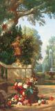 Panneau décoratif à le corveil Posters af Charles Dugasseau