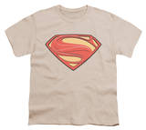 Youth: Man of Steel - New Solid Shield T-shirts