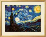 Starry Night, c.1889 Prints by Van Gogh Vincent