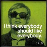 Everybody Posters by Warhol Andy