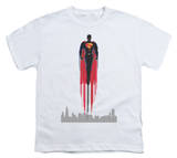 Youth: Man of Steel - Red Streak T-Shirt