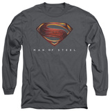 Long Sleeve: Man of Steel - MoS New Logo Shirts