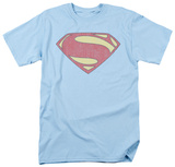 Man of Steel - New MoS Distessed Shield T-shirts