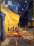 The Café Terrace on the Place du Forum, Arles, at Night, c.1888 Posters by Van Gogh Vincent