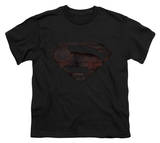 Youth: Man of Steel - MoS Iron Rust Shirts