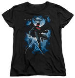 Womans: Man of Steel - Steel Lightning T-shirts