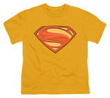 Youth: Man of Steel - New Solid Shield Shirt