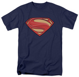 Man of Steel - New Solid Shield (slim fit) T-Shirt