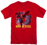 Man of Steel - Fly By T-shirts