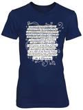 Juniors: Daughter -Sister- Christian T-Shirt