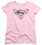 Womans: Man of Steel - MoS Butterfly Logo Shirts